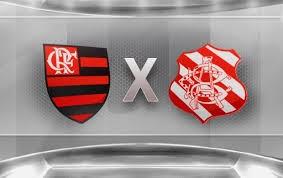 Bangu x Flamengo  (Foto: Arte/ TV Liberal)