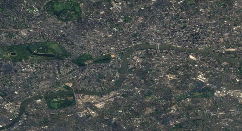 Londres (Foto: EOX/ Reprodução)
