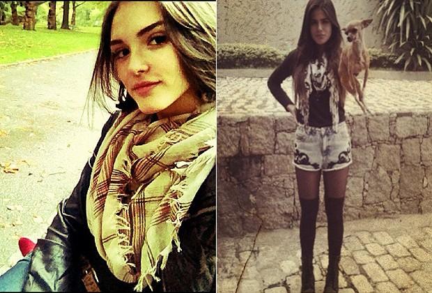 ISABELLE DRUMMOND E ANTONIA MORAIS (Foto: Reprodução/Instagram)