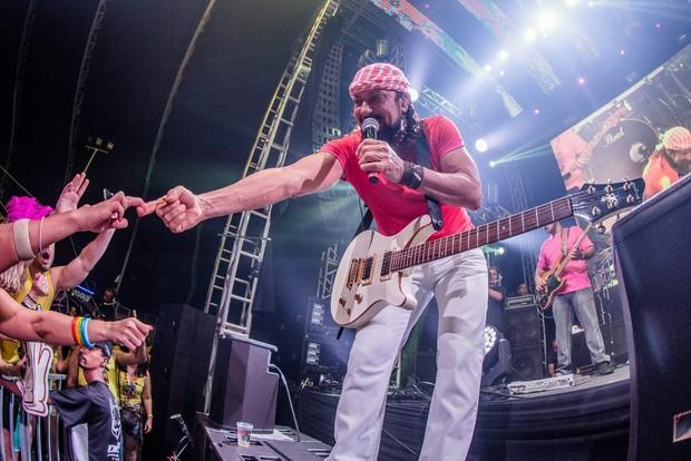 Bell Marques no último show no Chiclete com banana (Foto:  Rodrigo Esper / I Hate Flash/Facebook)