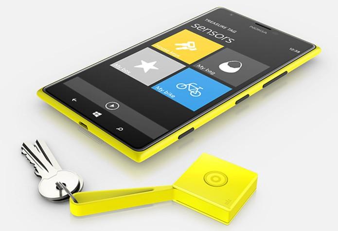 Treasure Tag-feat é acessório da Nokia para evitar perda de chaves e outros objetos pequenos (Foto: Reprodução/The Next Web) (Foto: Treasure Tag-feat é acessório da Nokia para evitar perda de chaves e outros objetos pequenos (Foto: Reprodução/The Next Web))
