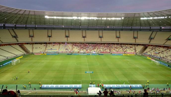Fortaleza x ASA Arena Castelão Série C (Foto: Juscelino Filho)