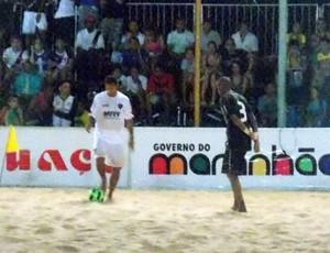 Vasco e Sport fizeram a primeira partida (Foto: Bruno Alves)