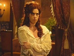 Neusinha fica com raiva de Isabel (Foto: Lado a Lado / TV Globo)