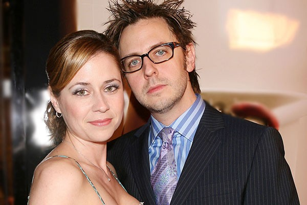 James Gunn e Jenna Fischer (Foto: Getty Images)