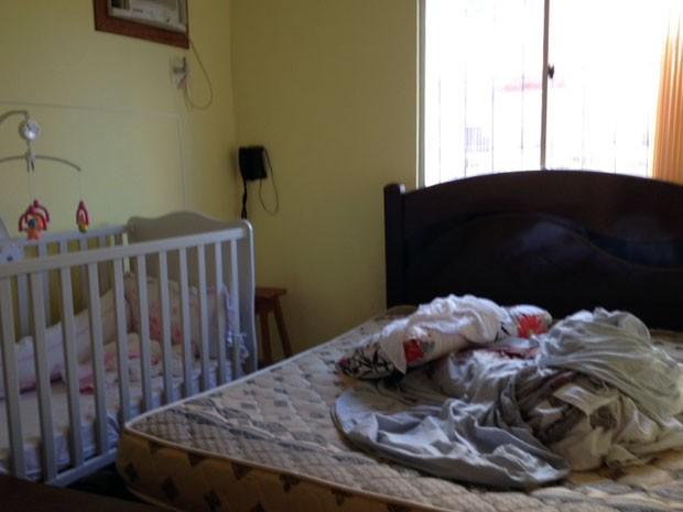 Quarto de homem morto em operação da PM  berço da filha de 11 meses ficava 535999bffe2