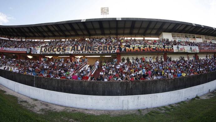 São Francisco e Remo se enfrentam no Estádio Colosso do Tapajós (Foto: Tarso Sarraf/O Liberal)