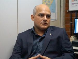 Delegado Ricardo Menezes diz que indiciou presidente da Câmara de Vereadores por corrupção ativa (Foto: Ascom/Polícia Civil)