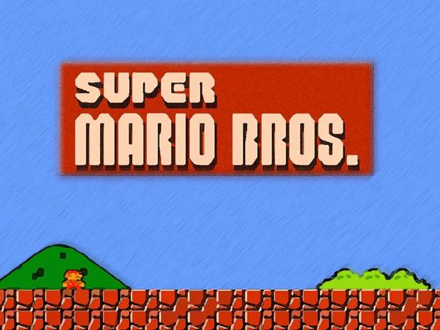 Clássico de 1985, Super Mario Bros garante presença no hall da fama dos games (Foto: Reprodução)