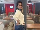 Eliana Amaral recebe liberação de médico para se sentar