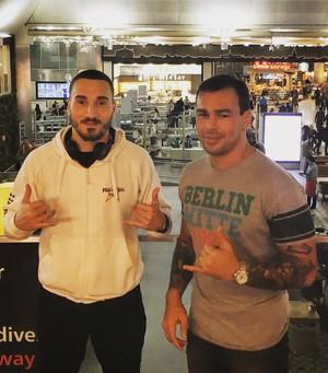 João Carvalho e Armênio Neto MMA (Foto: Arquivo Pessoal)