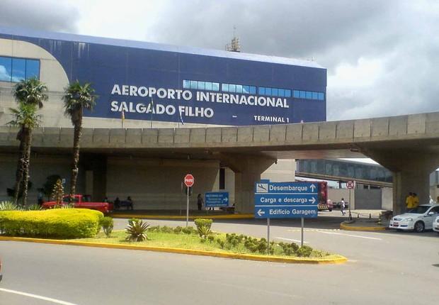 Aeroporto Salgado Filho em Porto Alegre (Foto: Wikimedia Commons/Wikipedia)