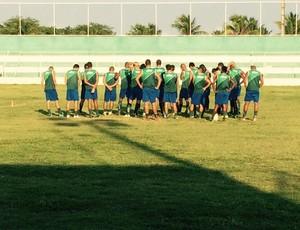 Alecrim - técnico Anthoni Santoro - jogadores - Ninho do Periquito (Foto: Jean-Paul Prates/Divulgação)