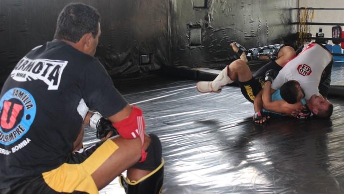 Ismael Marmota e Adercino Marmita - MMA (Foto: Fernando Vasconcelos / Globoesporte.com)