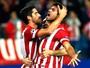 Diego Costa perde pênalti, se redime, e Atlético se garante em 1º nas oitavas