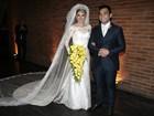 Antônia Fontenelle e Jonathan Costa se casam no Rio