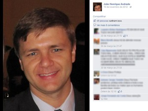 João Henrique Andrade foi achado na tarde desta quarta-feira em rodovia entre Bebedouro e Pirangi  (Foto: Reprodução/ Facebook)