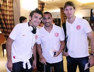 Delegação do Inter está concentrada para encarar o Flamengo (Foto: Alexandre Lops / Inter, DVG)