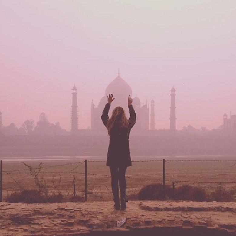 Taj Mahal (FOTO: ARQUIVO PESSOAL/MEGAN SULLIVAN)
