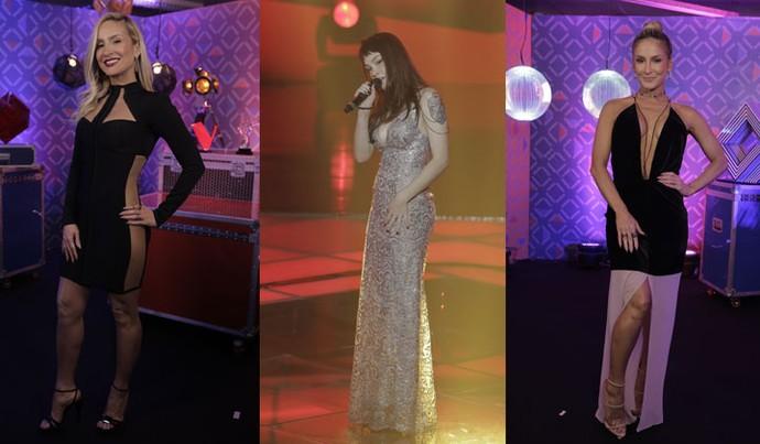 Claudinha e Jade Baraldo arrasaram no Look Sexy no The Voice Brasil (Foto: Artur Meninea)
