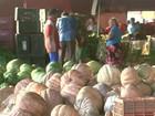 95% dos produtos vendidos na Ceasa são de fora do estado de Alagoas