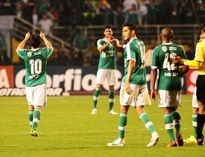 Gol Valdivia, Palmeiras x Icasa (Foto: Marcos Ribolli)