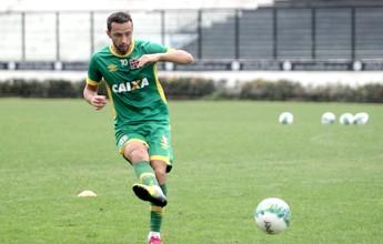 Santos prega cuidado especial com  Nenê, que volta à Vila após 13 anos