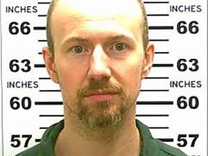 O foragido David Sweat foi capturado pela polícia americana (Foto: Reuters)