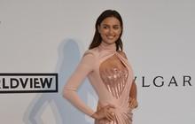 Irina Shayk, namorada de C.Ronaldo, vai a baile de gala com superfenda