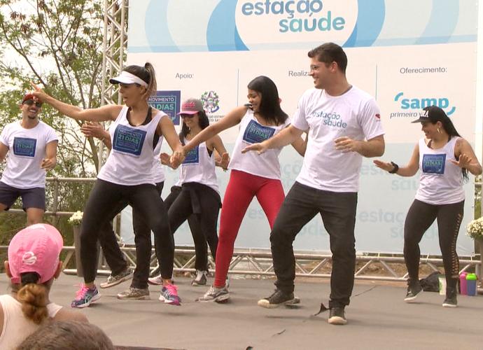 Vitor Zucolotti cai na dança! (Foto: Divulgação/ TV Gazeta)