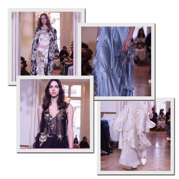 A estreia de Alberta Ferretti na couture (Foto: Reprodução/Instagram)