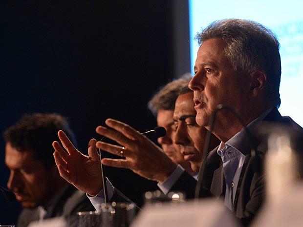 O governador eleito do Distrito Federal, Rodrigo Rollemberg, durante entrevista no último sábado (13) (Foto: José Cruz/Agência Brasil)