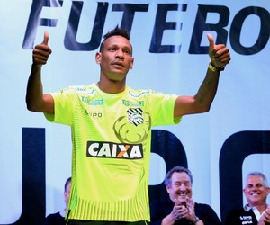 Marcão Figueirense uniforme (Foto: Luiz Henrique/Figueirense FC)