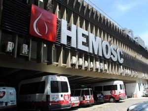 Hemosc (Foto: Jaqueline Noceti/ SECOM)