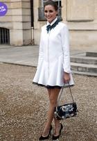 Look do dia: Olivia Palermo arrasa de branco no lançamento