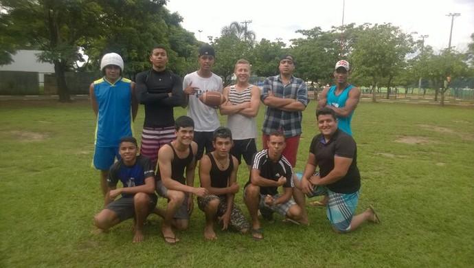 Valdos Eagles, primeiro time roraimense cristão de futebol americano (Foto: Divulgação/Valdos Eagles)