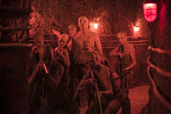 Baal e seu exército têm atormentado a vida dos confinados na prisão (Foto: Raphael Dias/ Gshow)