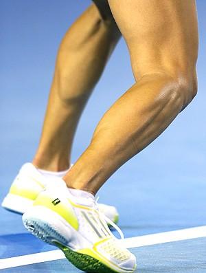 detalhe pernas Ana Ivanovic  (Foto: Getty Images)