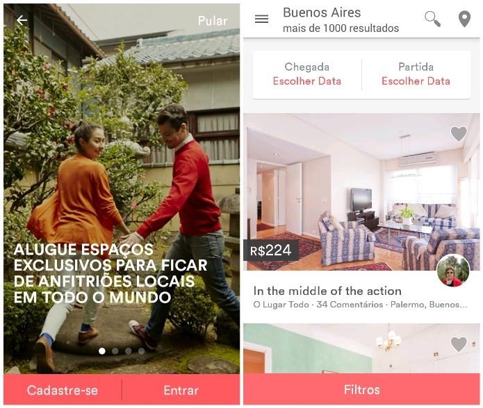 Airbnb permite reservar acomodações facilmente (Foto: Reprodução/Lívia Dâmaso) (Foto: Airbnb permite reservar acomodações facilmente (Foto: Reprodução/Lívia Dâmaso))