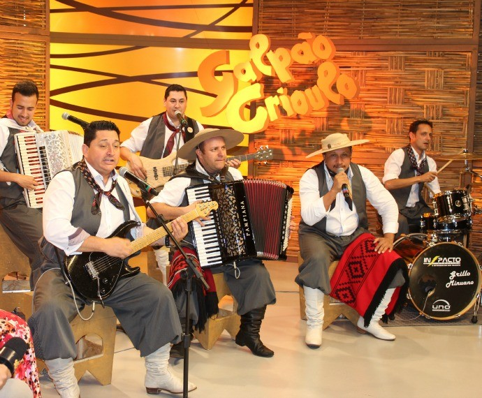 Grupo Minuano (Foto: Nice Sordi/RBS TV)