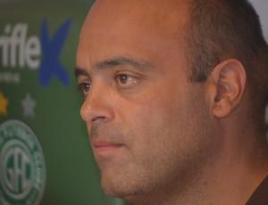 Álvaro Negrão, presidente do Guarani (Foto: Murilo Borges / Globoesporte.com)