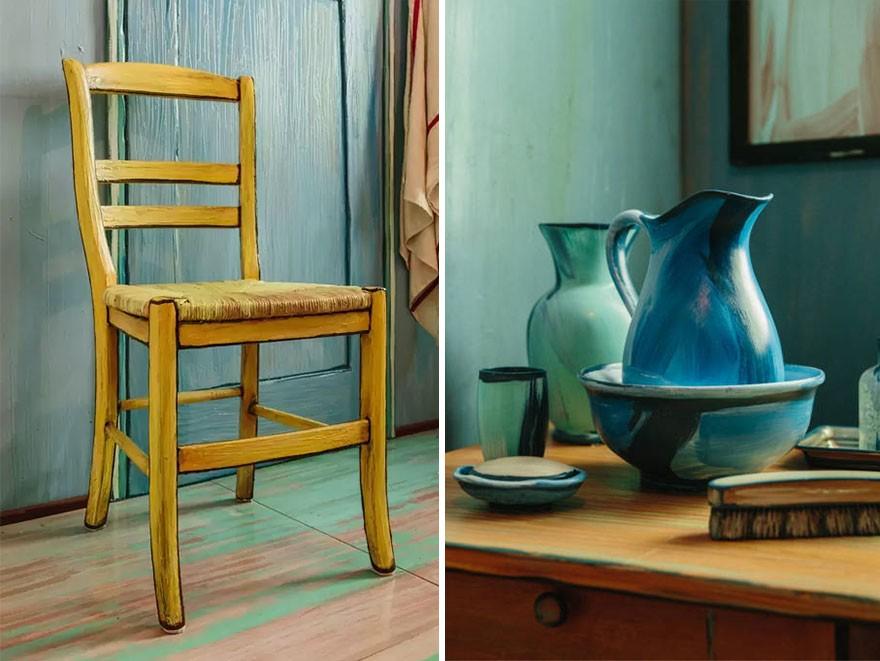 Que tal se hospedar no quarto de Van Gogh? - Galileu   Cultura