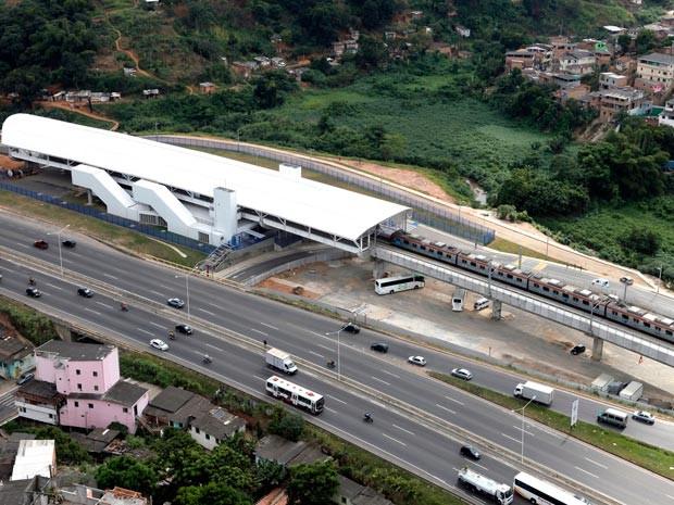 Estação do metrô do Bom Juá é inaugurada em Salvador (Foto: Elói Corrêa/GOVBA)