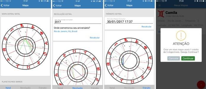 Astros.io ofrece horóscopo completo en detalle (Foto: Reproducción / Camila Peres)