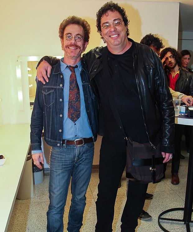 Nando Reis e Carlos Casagrande (Foto: Manuela Scarpa/Brazil News)