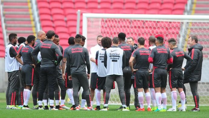 Internacional Inter treino (Foto: Ricardo Duarte/ Divulgação Inter)
