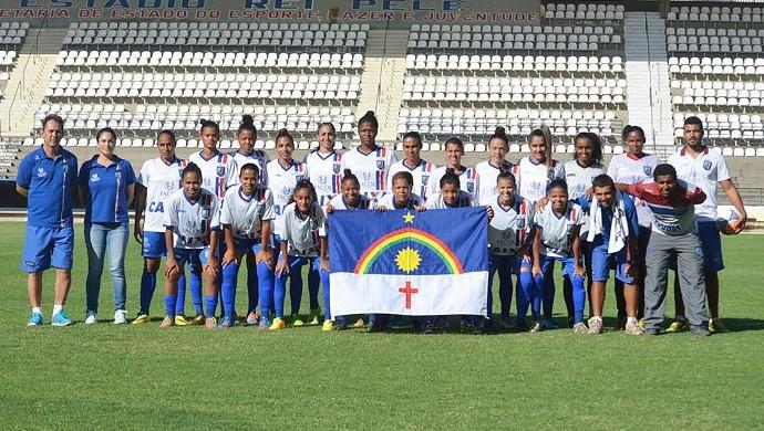 Vitória-PE campeão pernambucano futebol feminino (Foto: Divulgação/Vitória-PE)