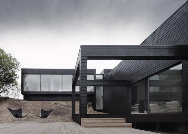 Top 10 Casas Com Fachadas Pretas Casa Vogue Arquitetura