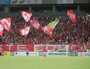 Arena das Dunas - torcida do América-RN (Foto: Fabiano de Oliveira)