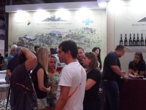 O estande da Rota foi um dos mais concorridos do primeiro armazém  (Foto: Divulgação / AC Assessoria)
